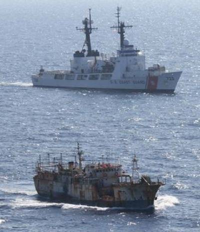 Da Cheng Arriest: Photo credit USCG