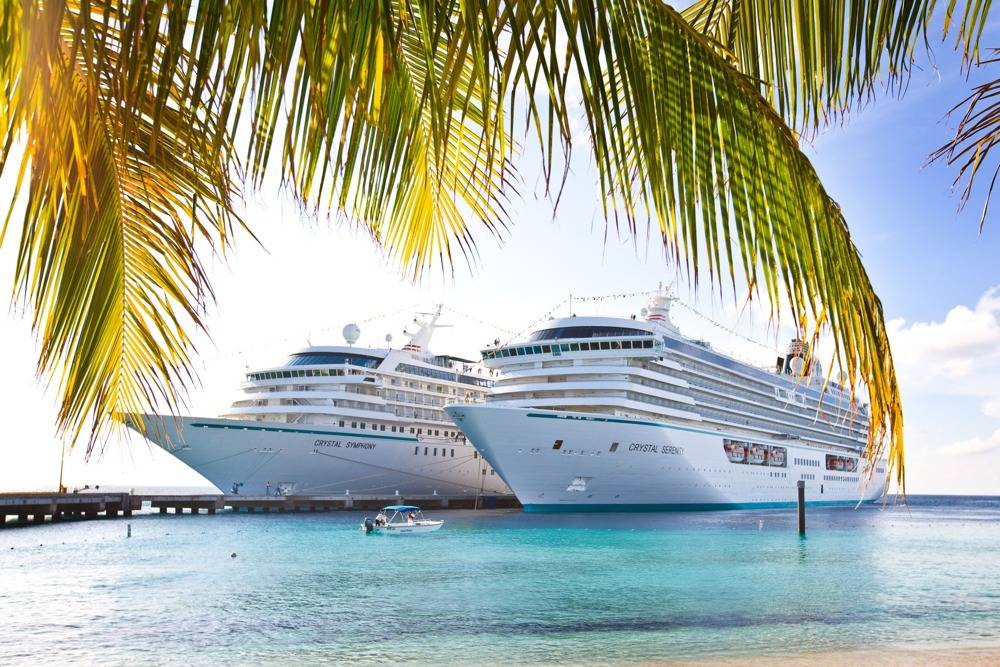File Crystal Cruise ships alongside:Image credit Crystal Cruises
