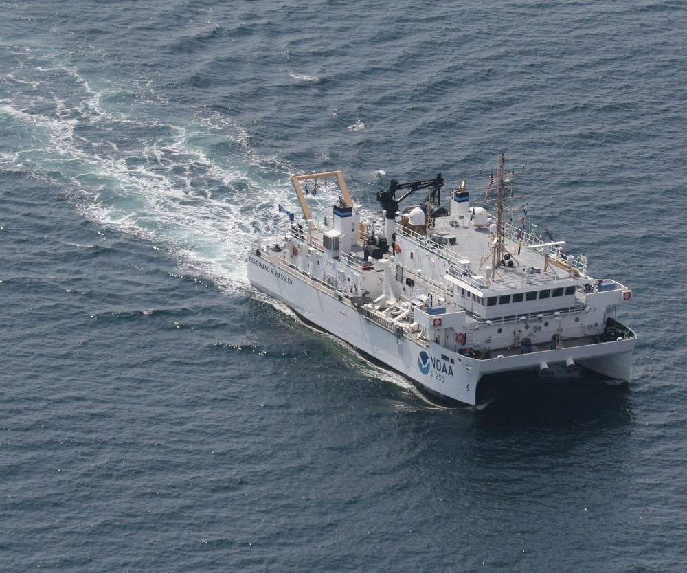 NOAA Ferdinand R. Hassler: Photo credit NOAA