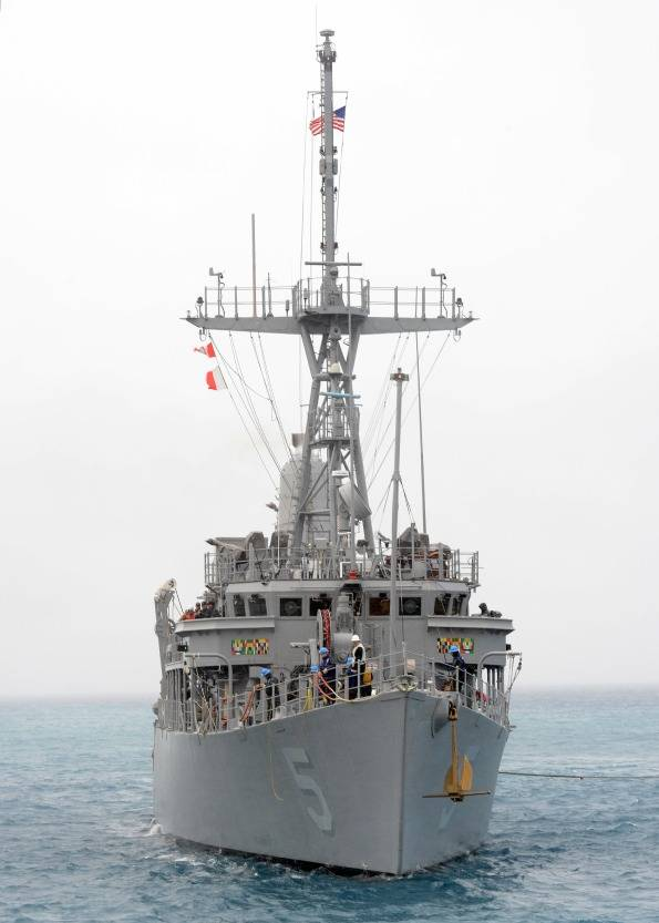 USS Guardian: Photo credit US Navy