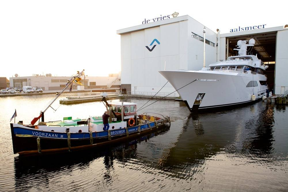 File Superyacht Larisa Launch: Photo credit Feadship