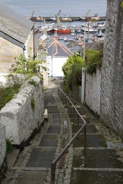 Newlyn Harbour: Photo credit Geograph Elizabeth Scott CCL