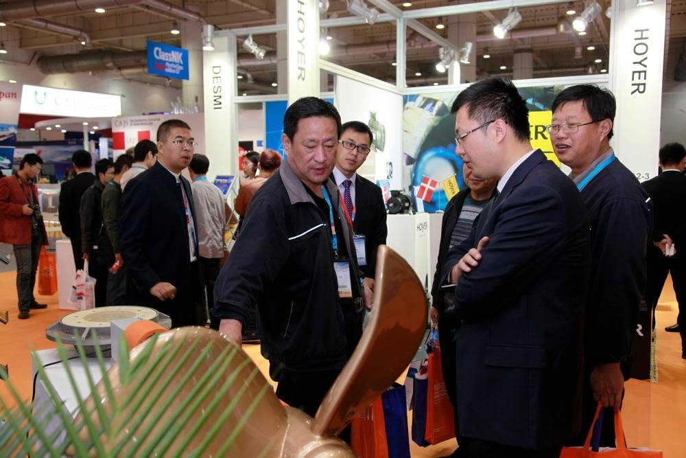 Scene at Shiptec 2012: Photo credit Shiptec