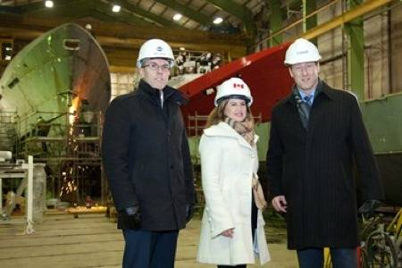 File Shipyard Ministerial Visit: Photo credit Irving