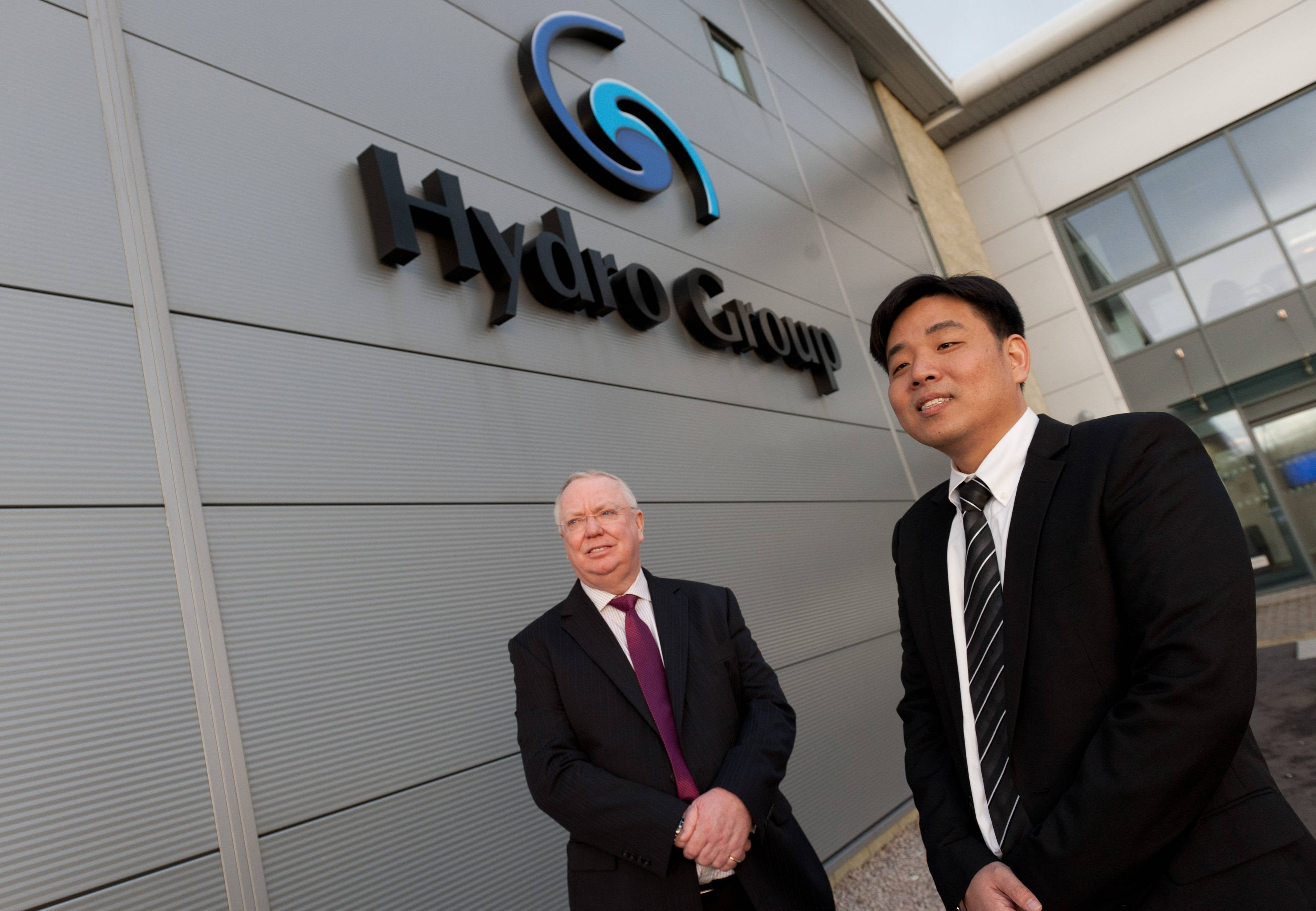 File Doug Whyte, Hydro Group managing director with Steve Ang, who will head-up the Hydro Group Singapore office. Photo: Hydro Group