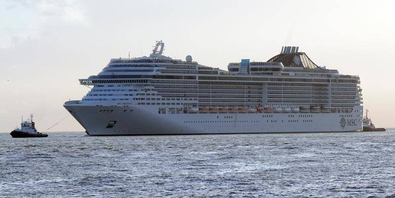 MSC Preziosa: Photo credit GE