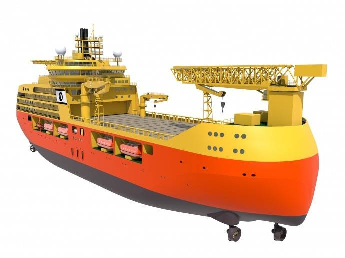 File New Offshore Accommodation Vessel: Image credit Edda Accommodation