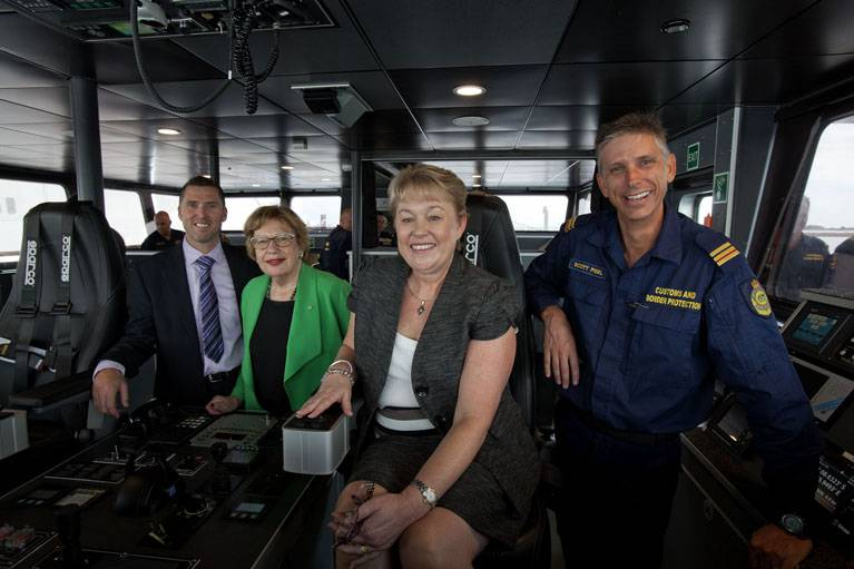 File Naming Ceremony: Photo credit Austal