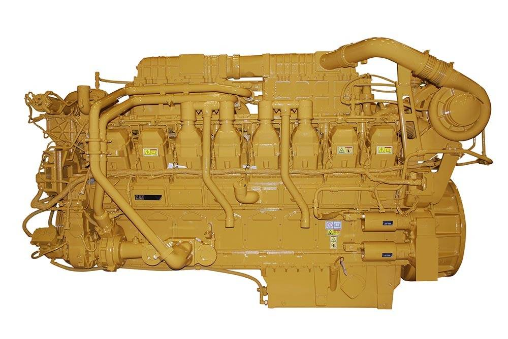 File Cat® 3516C (HD) engine: Image credit Caterpillar