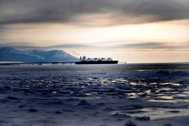 File Tankship on NSR: Photo courtesy of Gazprom