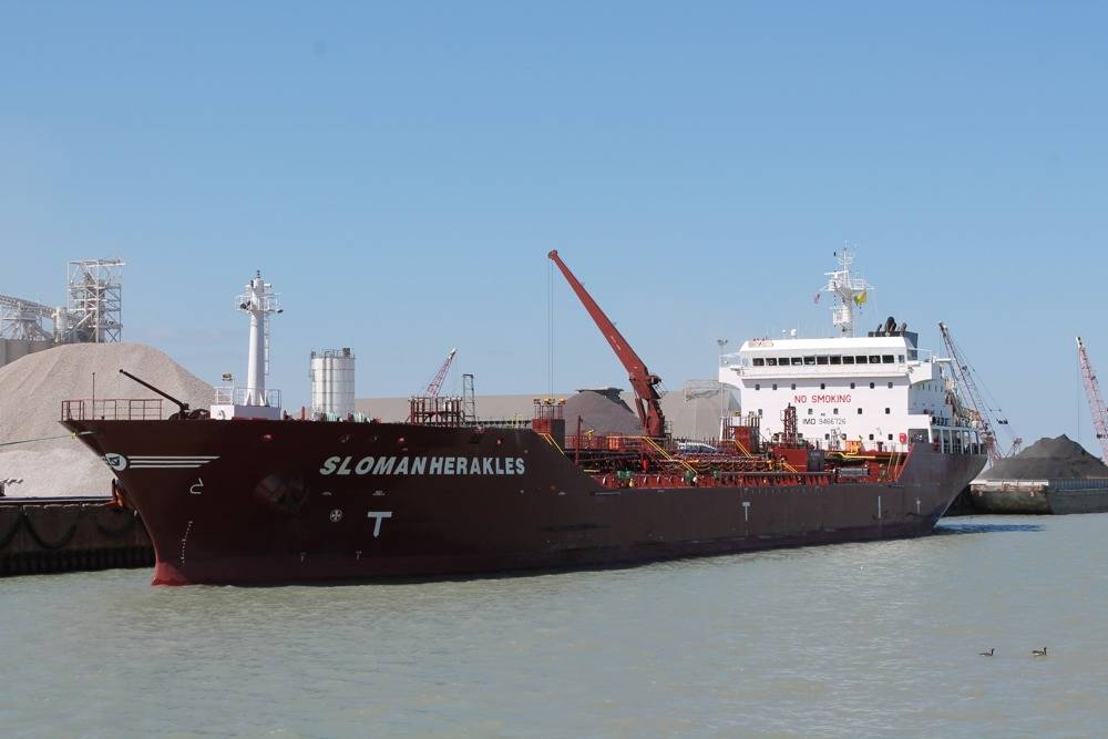 Sloman Herakles: Photo credit Port of Indiana