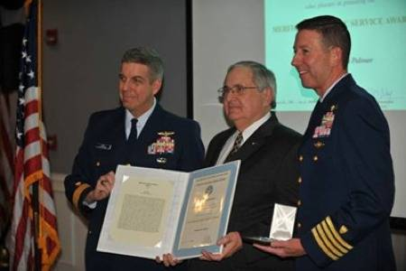 Award Ceremony: Photo credit USCG