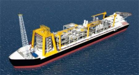 Model HHI FPSO: Image credit HHI