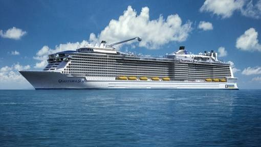 Quantum of the Seas, Royal Caribbean's newest ship which will debut in fall 2014. (Photo: Royal Caribbean)