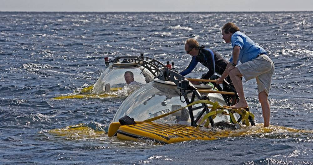 Submersible Passenger Exchange: Photo courtesy of Trition