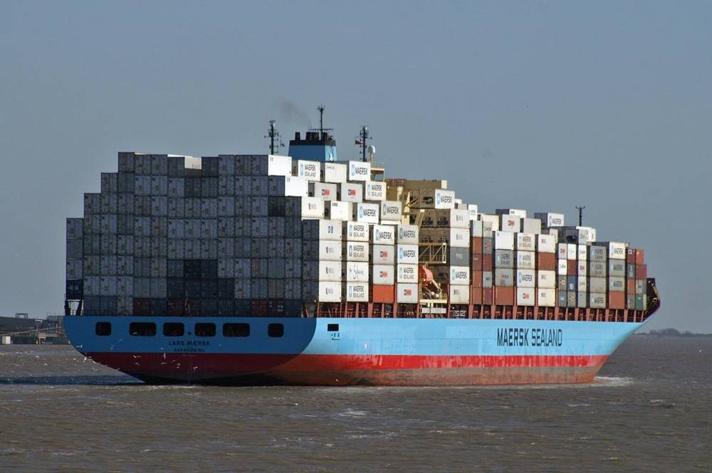 Maersk Line Ship: Photo courtesy of Maersk
