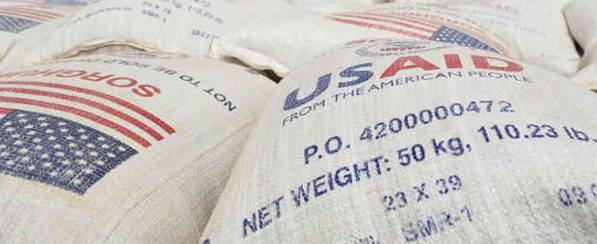 Food Aid: Image credit USA Maritime