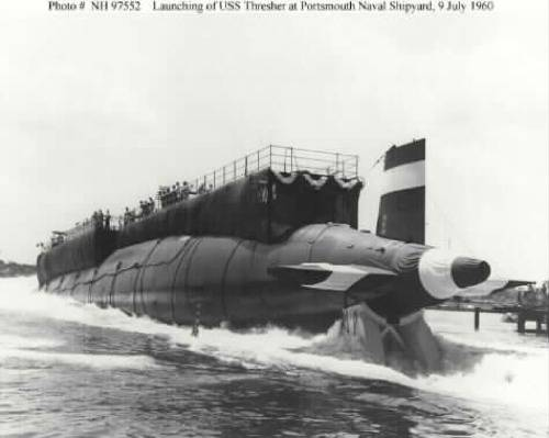 USS Thresher: Photo courtesy of Arlington National Cemetery