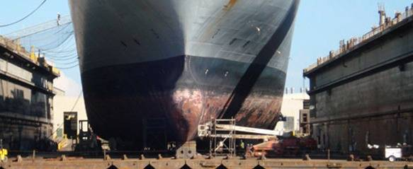 Shipyard Work: Photo courtesy of IMIA LLC