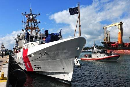Coast Guard Cutter Margaret Norvell. Photo: USCG