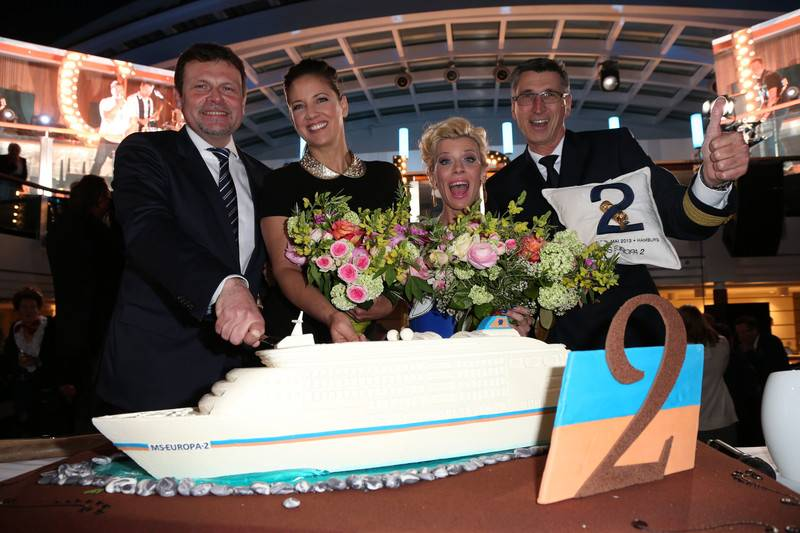 Europa 2 Christening: Photo credit Hapag-Lloyd