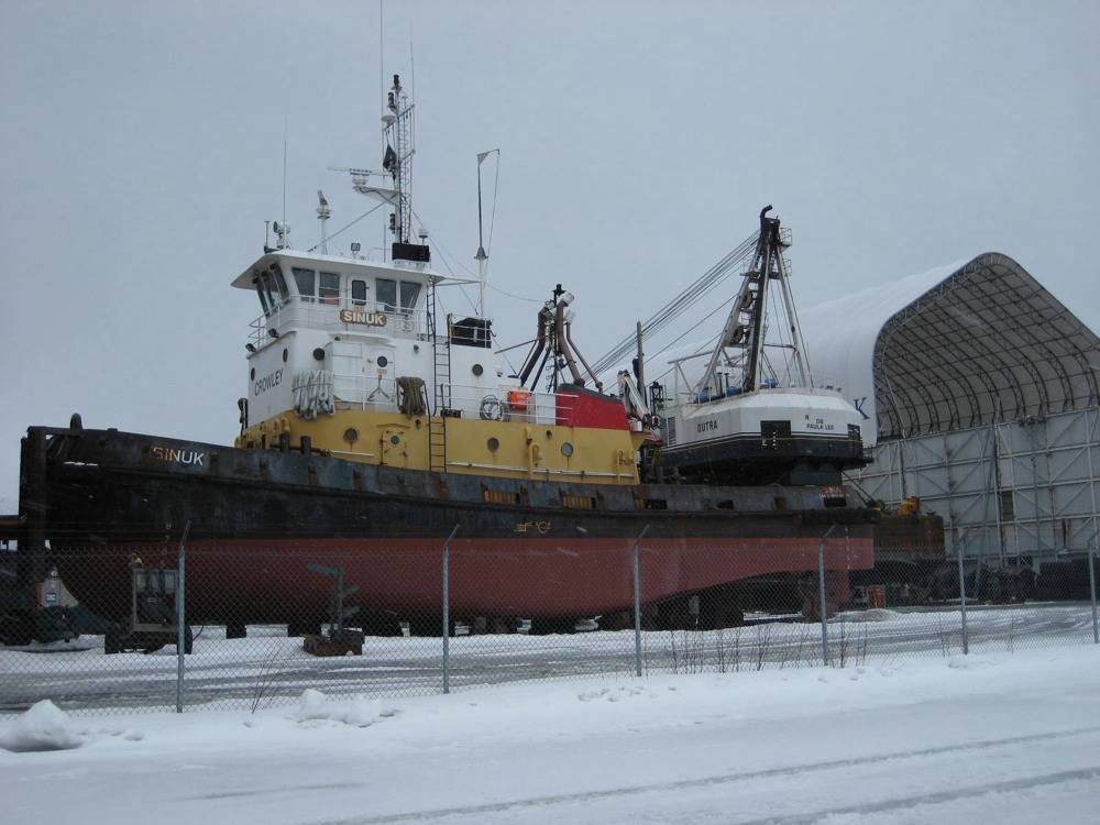 Tugboat Sinuk: Photo credit Marcon
