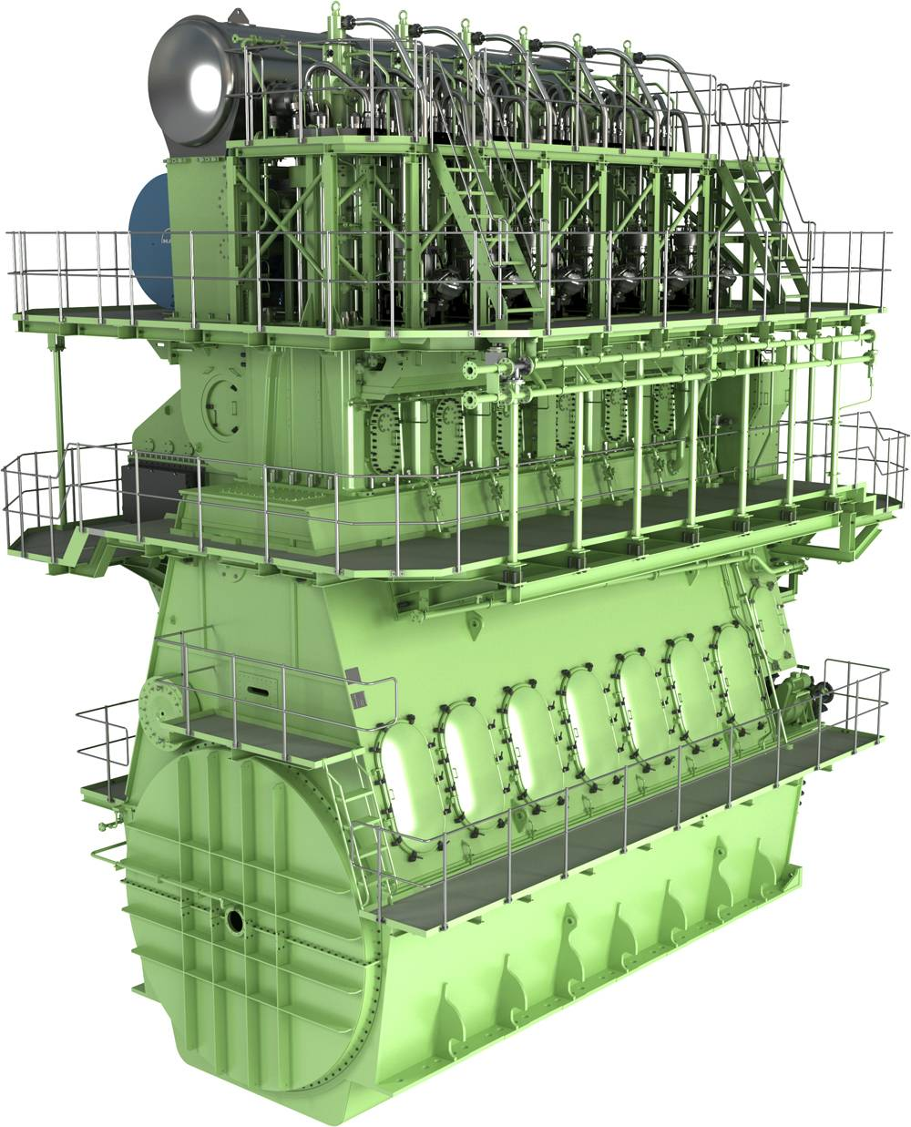 The MAN B&W G60ME-C engine will satisfy IMO environmental standards as well as the shipowners