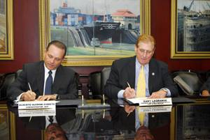 File ACP and Port of New Orleans Renew Agreement.