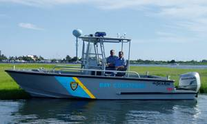 File Marine 7, a 21-ft. Comander center console patrol/rescue boat