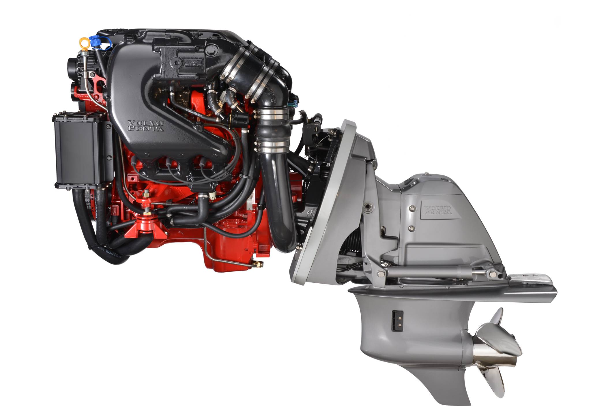 Volvo Penta Debuts New Marine Engines