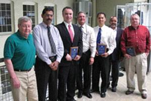 File Pictured left to right: William Cahill, MARAD HQ Project Sponsor; Paul Varghese, Crowley Maritime Corporation; Ivan Radovic, NOVACES; Robert Babin, MARAD Gulf Region; Merwyn Oliveria, American Bureau of Shipping; George Kuchaparampil, MARAD Gulf Coast; and Grady Byrd, MARAD Gulf Coast