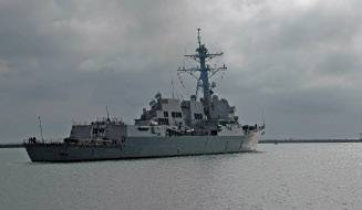 File The guided-missile destroyer USS Sterett (DDG 104). Photo courtesy U.S. Navy