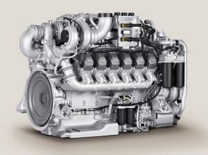 File MTU Series 2000 diesel engines are able to meet EPA Tier 4i emissions requirements without aftertreatment. [Pictured: 12V 2000 CX6/] Images courtesy Tognum Group
