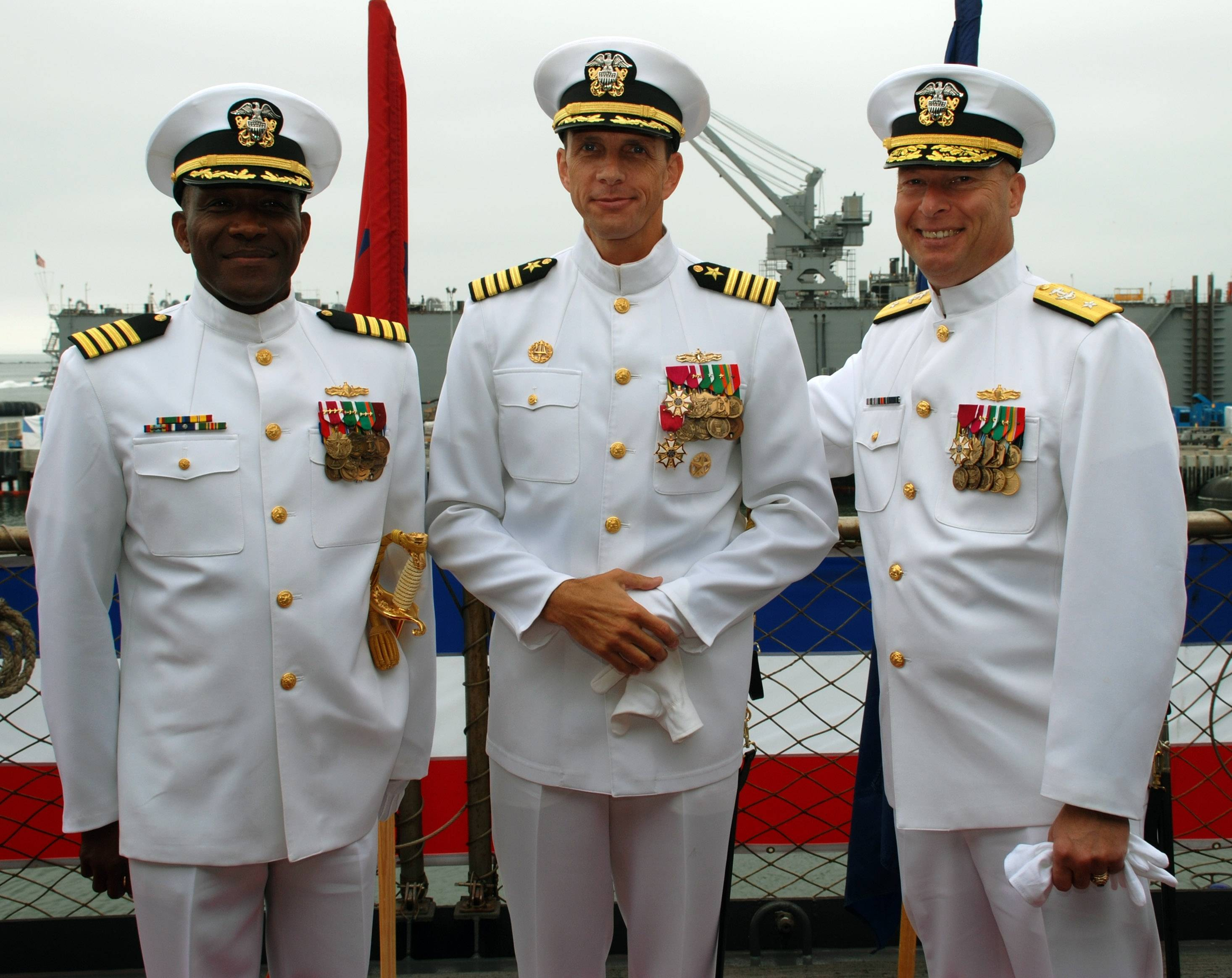 MSC Change of Command Ceremony