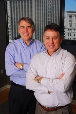 File Marine Management, LLC managing member Cliffe Laborde (left), with Peter Laborde