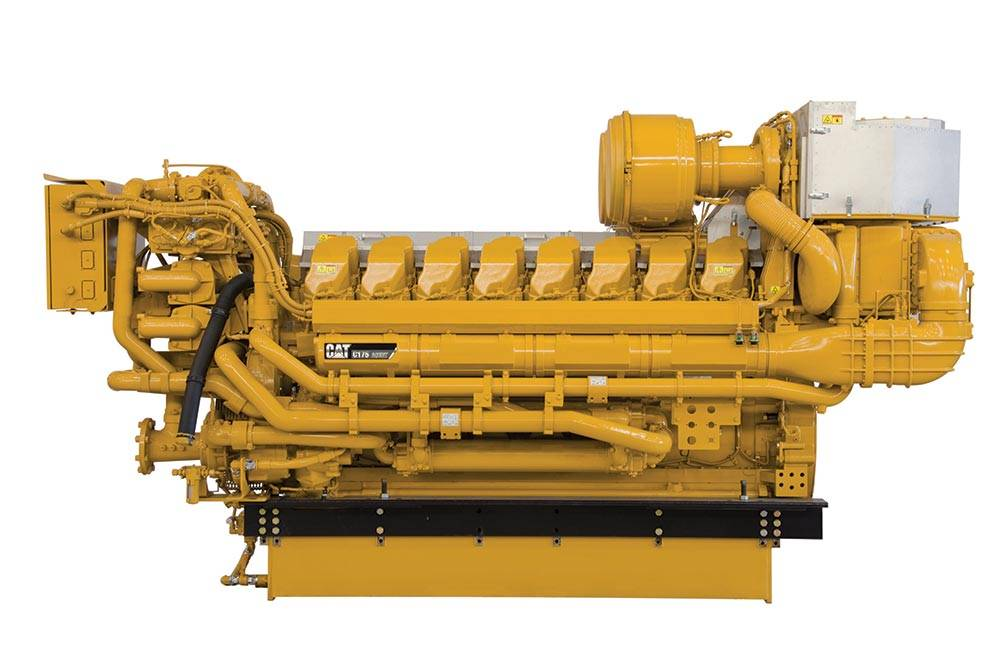 Cat C175-16 marine propulsion engine.