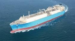 Maersk LNG Carrier: Photo credit Maersk