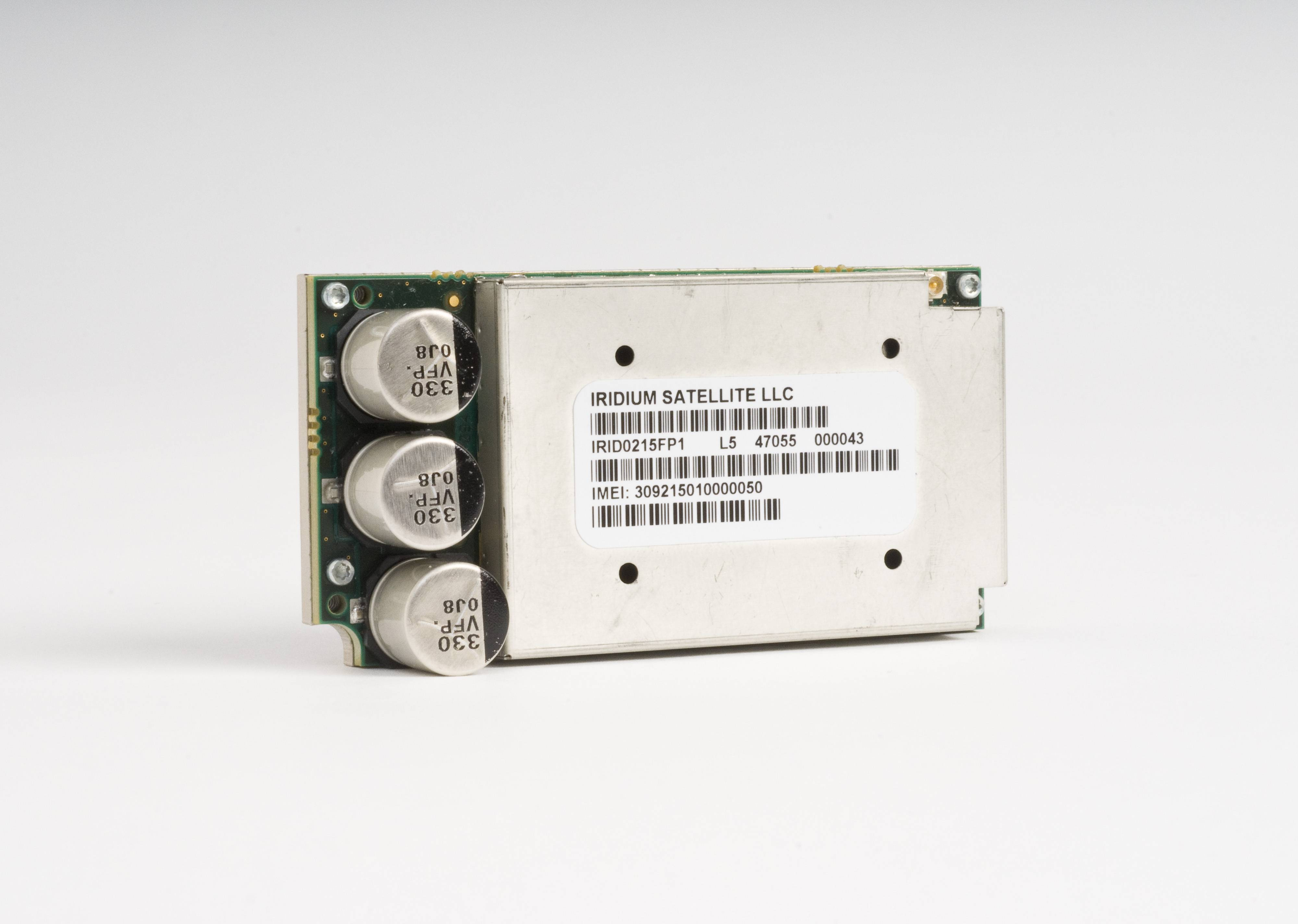 the Iridium Core 9523 transceiver.