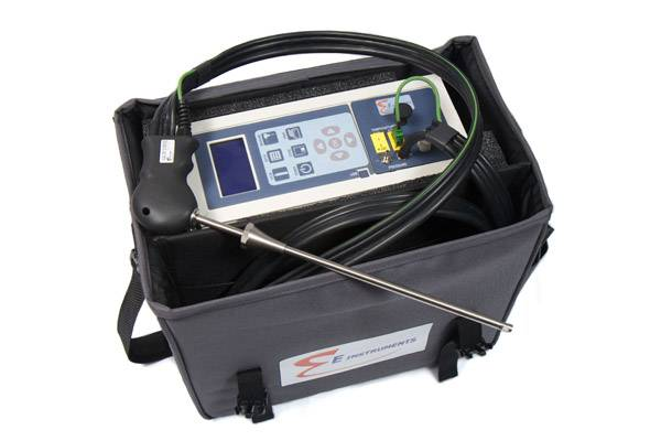 File The E8500 combustion analyzer (Photo: E Instruments).