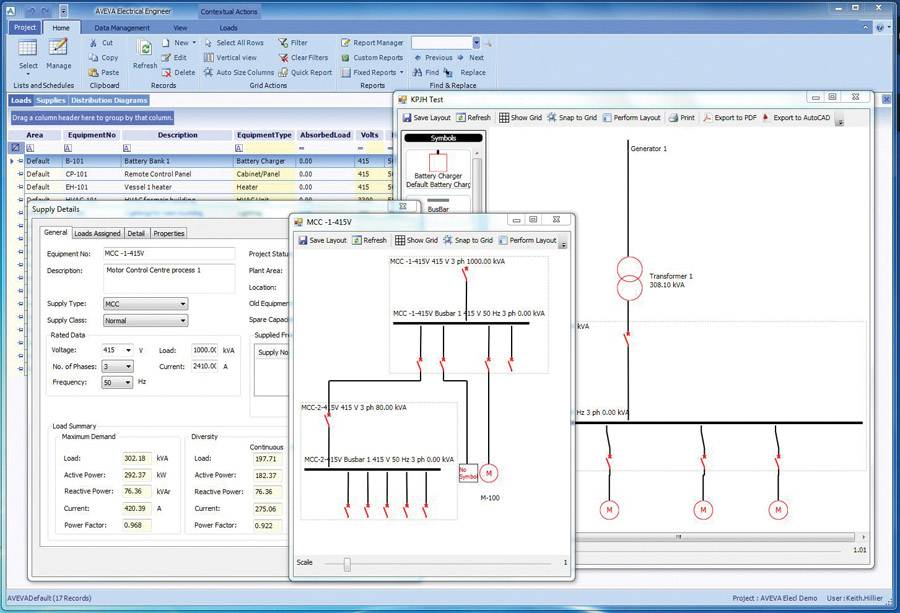 File The new AVEVA Electrical software application (Photo: AVEVA).