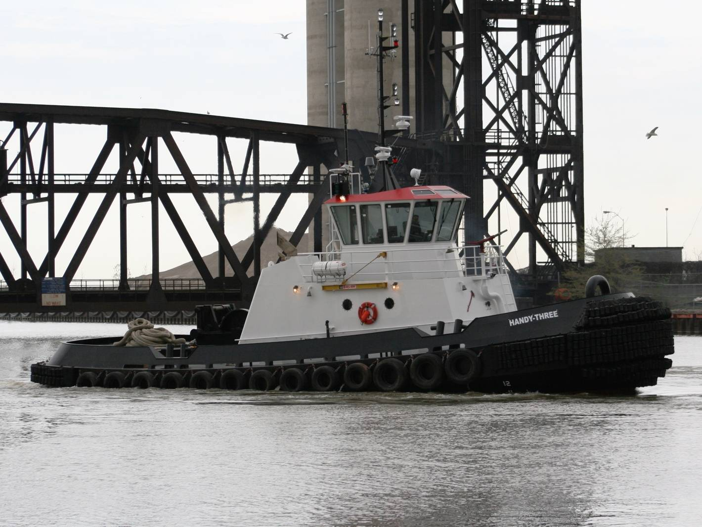 newly constructed tugboat, HANDY-THREE
