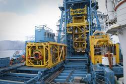 File The AX-S tool storage package deployed for subsea stack-up commissioning