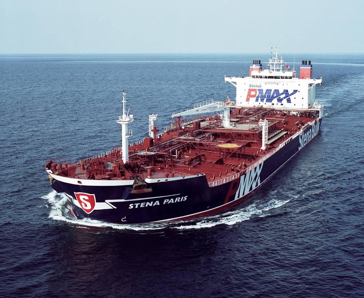 Total charters concordia p max tanker