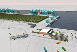 Maasvlakte II Port Project: Image credit Port of Rotterdam