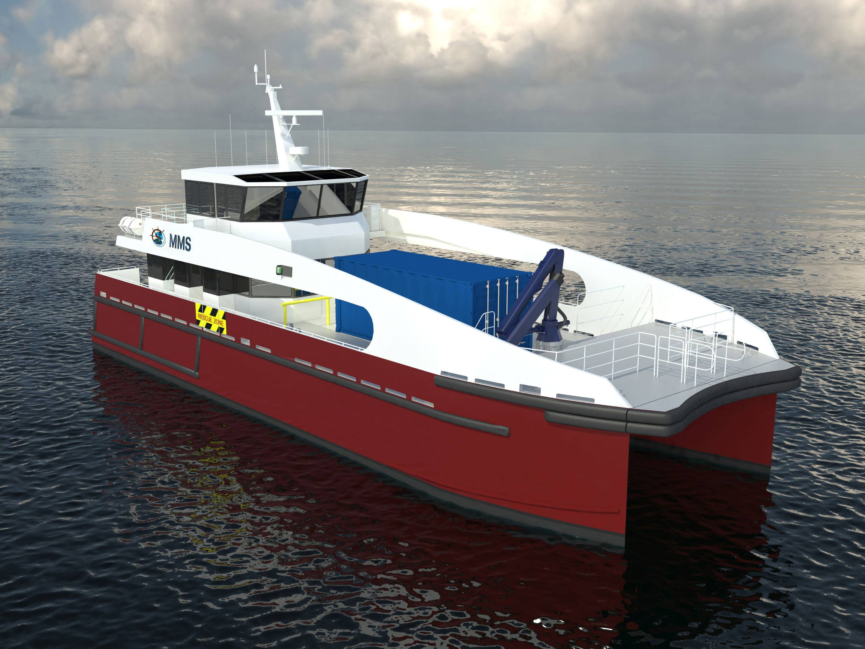 File 25m Catamaran Wind Farm Service Vessel