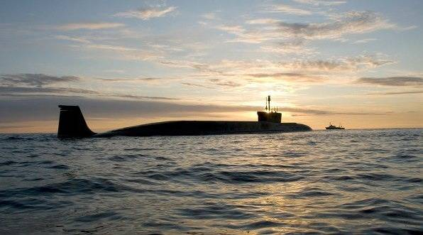 Borey-class submarine: Photo courtesy of Sevmash Shipyard
