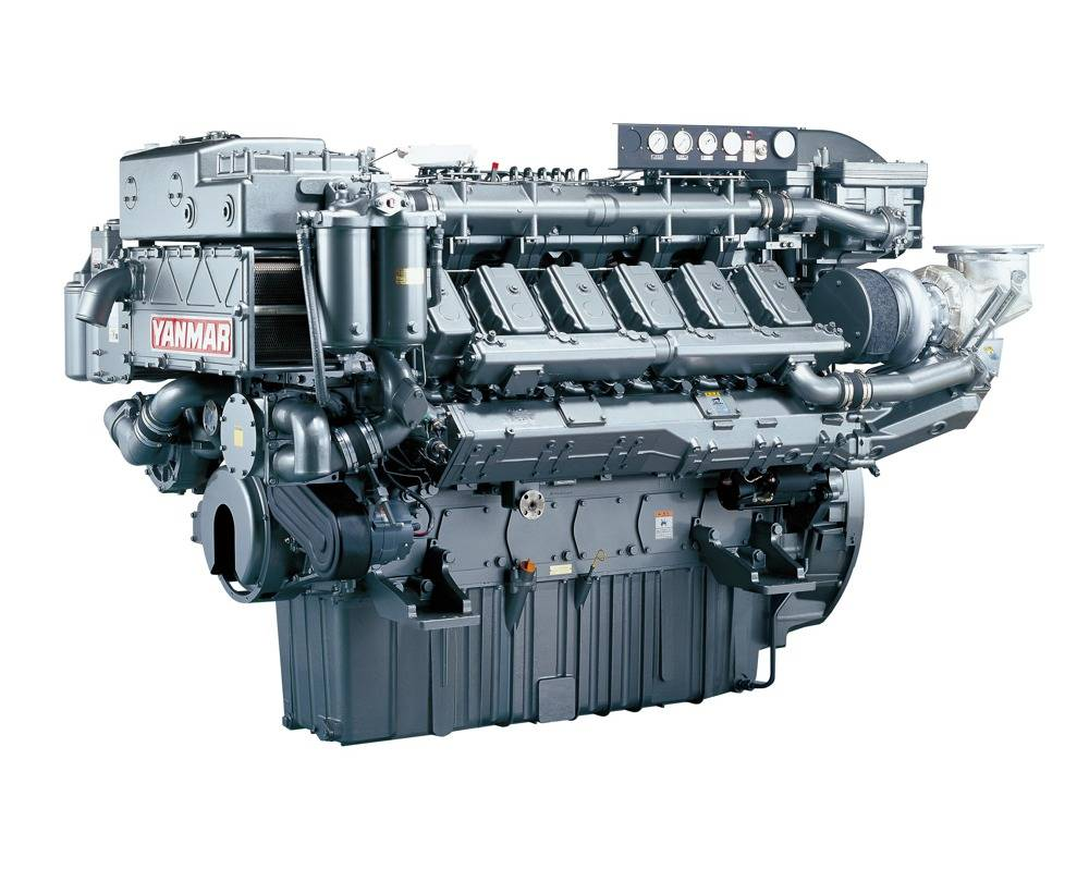File Yanmar 12AY Engine: Photo credit Yanmar Europe