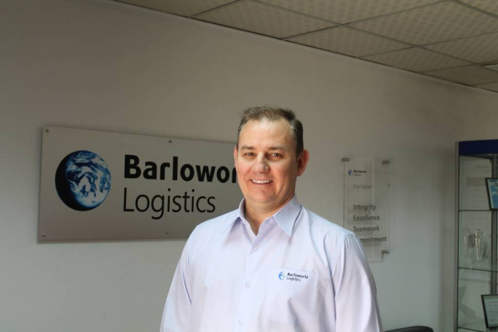 Frank Courtney, Barloworld Logistics Chief Executive for EMEA region.