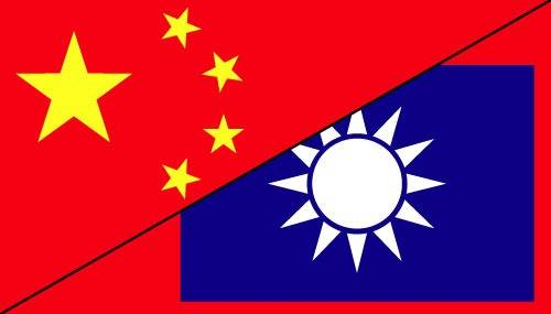 the relationship between mainland china and taiwan flag