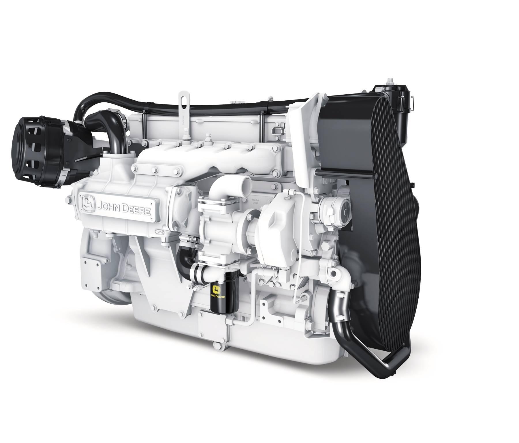 John Deere Boat : New marine engines